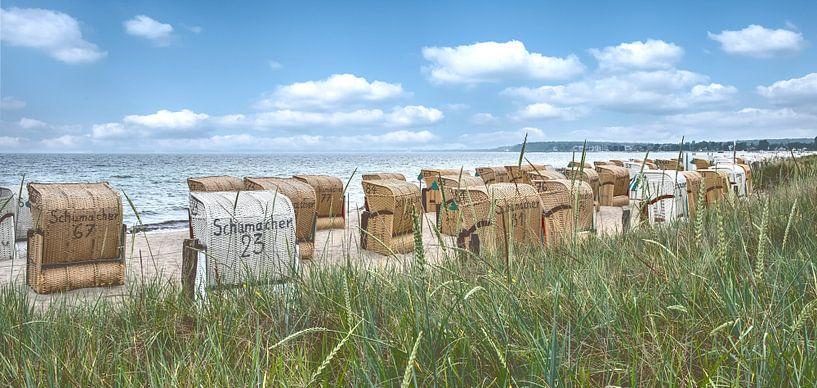 Sommer an der Ostsee von Frans Nijland