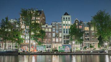 Amsterdam in de nacht 2.0 sur Stijn van Hulten