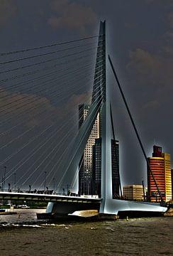Erasmusbrug Rotterdam van Arjan Krijntjes