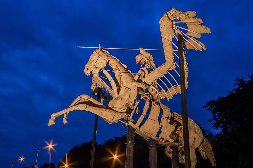 Pegasus in Diest van Bert Beckers