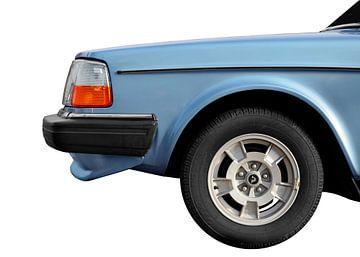 Volvo 244 GL in light blue von aRi F. Huber