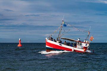 Fischerboot auf der Ostsee während der Hanse Sail von Rico Ködder