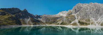 Panorama Lunersee und Berge von Karin vd Waal