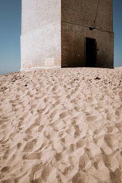 Oude muren in de duinen van David Heyer
