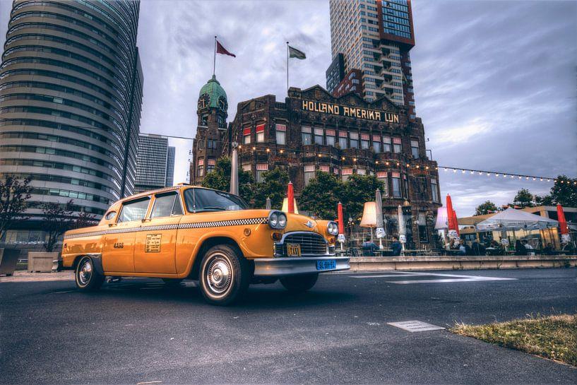 New York Cab bij Hotel New York van Dennis Vervoorn
