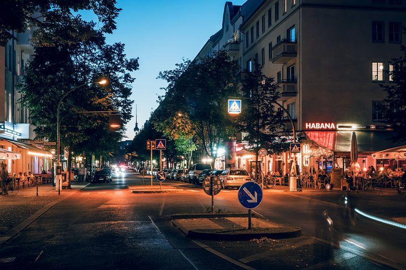 Berlin – Friedrichshain / Gruenberger Strasse van Alexander Voss