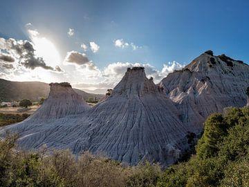 Erosion, Potamida, Kreta, Griechenland von Rene van der Meer