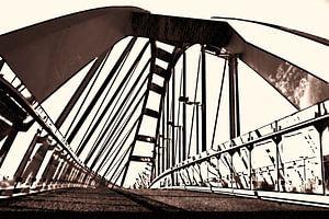 De Schuine brug van Leiden