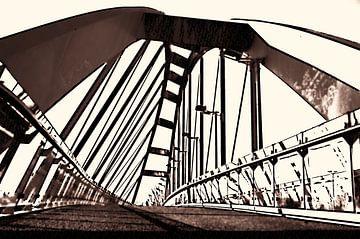 De Schuine brug van Leiden van Ernst van Voorst
