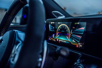 Mercedes-AMG Interior van Bas Fransen