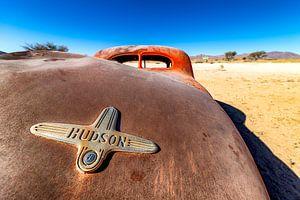 Hudson voller Dellen von Rene Siebring