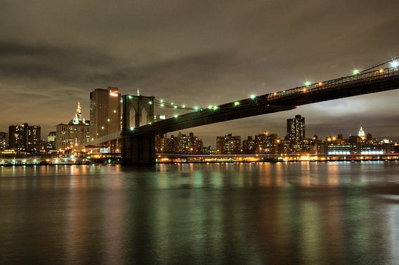 New York Skyline van Tineke Visscher