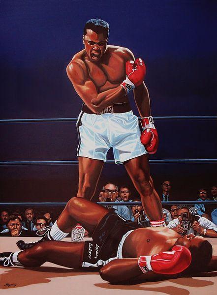 Muhammad Ali versus Sonny Liston van Paul Meijering
