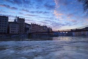 Saône Blue Hour
