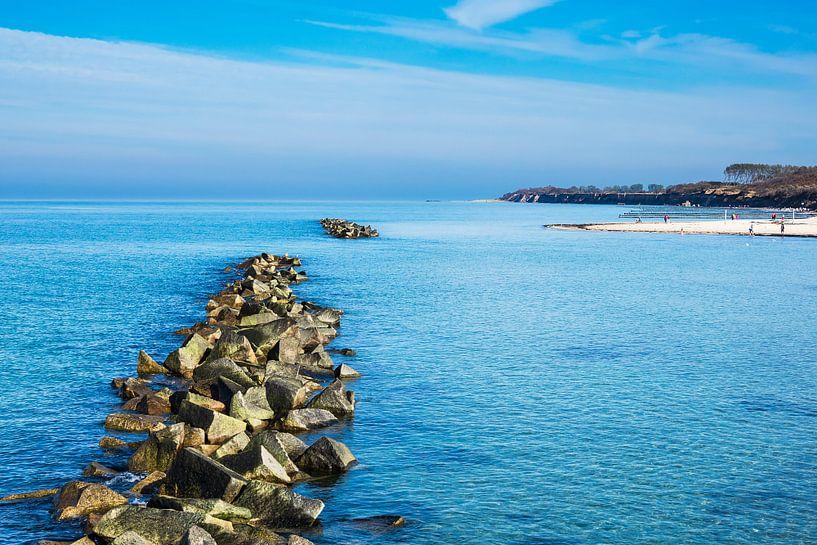 Ostseeküste auf dem Fischland-Darß in Wustrow von Rico Ködder