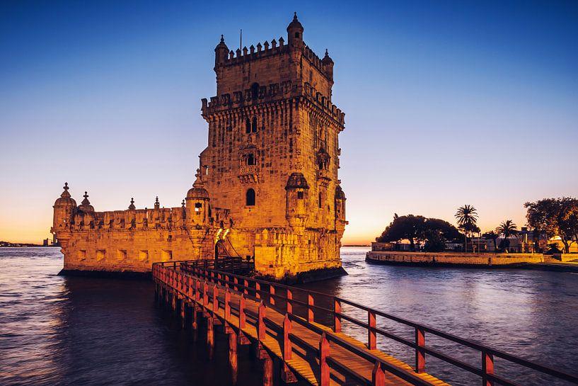 Belém Tower (Lisbon, Portugal) van Alexander Voss