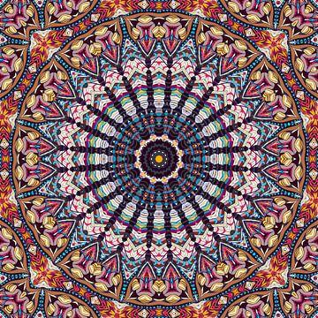 Mandala schoonheid van Marion Tenbergen