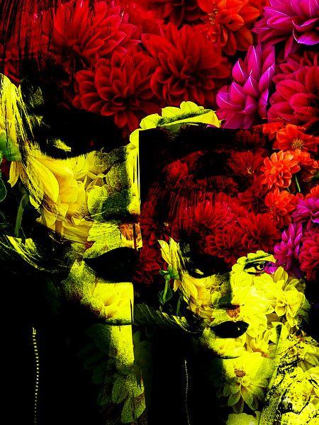 Flower woman van Gabi Hampe