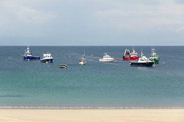 Boote im Hafen von Nathan Marcusse