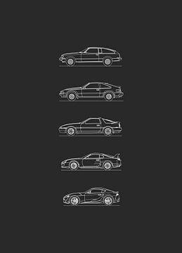 Toyota Supra Evolutie van Artlines Design