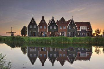 Huisjes Marinapark Volendam.