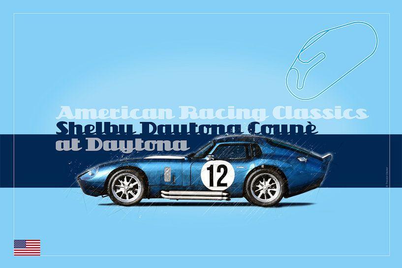 Shelby Coupe in Daytona, USA von Theodor Decker