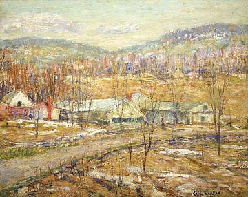 Ernest Lawson~Ende des Winters