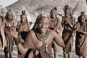 Himba Dancing