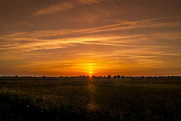 zonsondergang Marum von Marcel Braam