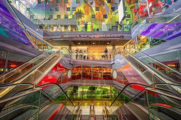Halle du marché de Rotterdam sur Leon Okkenburg