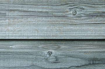 Oud hout van de schuur van Sven Wildschut