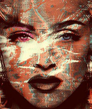 Motiv Porträt Madonna - Sexy View 3 D von Felix von Altersheim