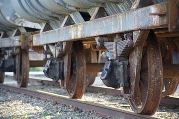 alter Eisenbahnwaggon von marijke servaes