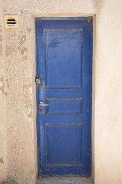 Blaue Tür von Barbara Brolsma