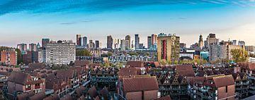 Skyline Rotterdam vanaf een 'andere' kant van