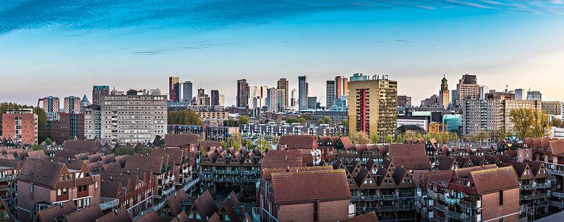 Skyline Rotterdam vanaf een 'andere' kant van Midi010 Fotografie