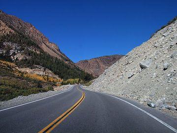 Road in Utah van