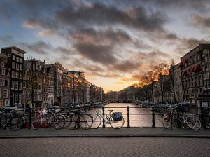 Dramatic Amsterdam van