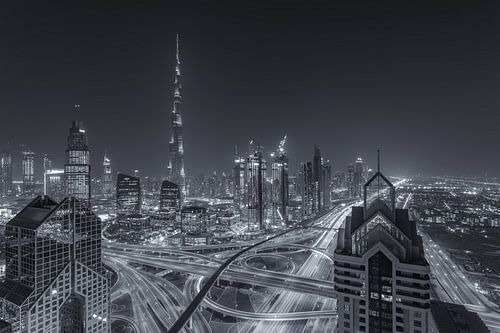 Dubai by Night - Burj Khalifa en Downtown Dubai - 7