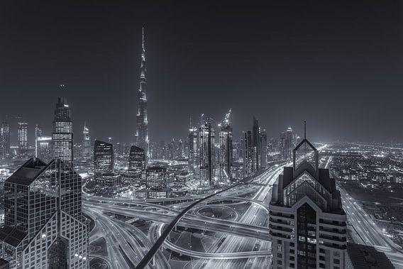 Dubai by Night - Burj Khalifa en Downtown Dubai - 7 von Tux Photography