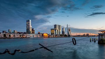 Skyline Rotterdam 2015 - Zonsondergang van