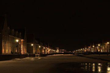 Winter on the Singelkade sur Louise Poortvliet