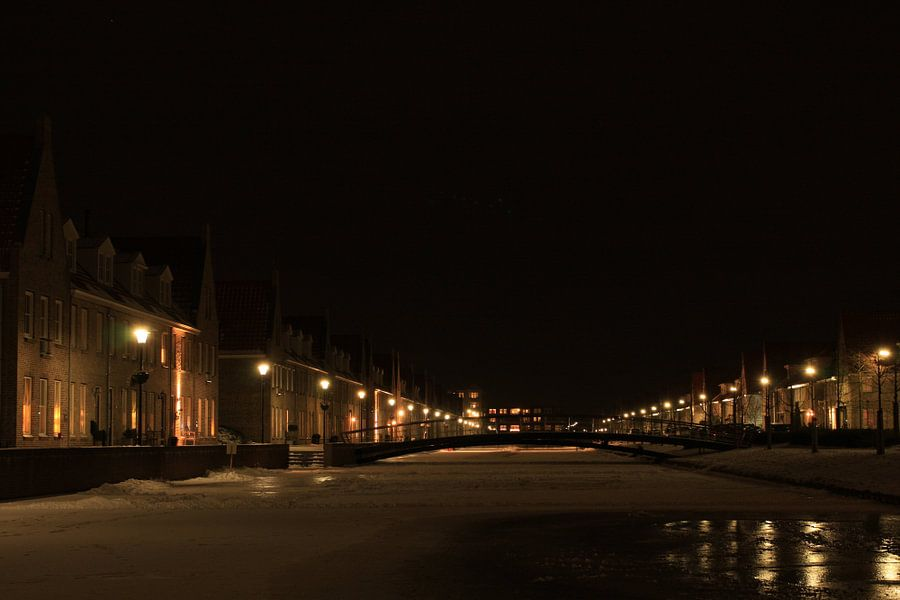 Winter op de Singelkade