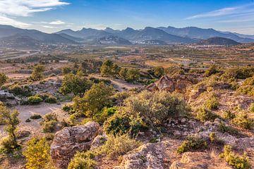 Berglandschaft in Spanien von Elroy Spelbos