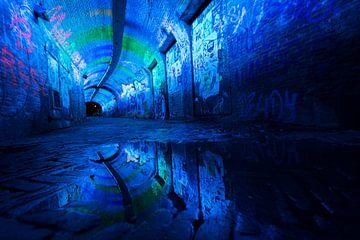 Blauer Tunnel von Max ter Burg Fotografie