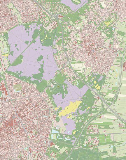 Kaart vanLaren