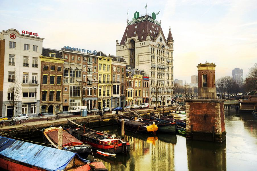 Witte huis, Rotterdam van Fotografie Arthur van Leeuwen
