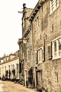 Amersfoort Utrecht Nederland Sepia van Hendrik-Jan Kornelis