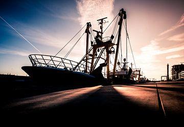 Vissersboot van Rik Provost