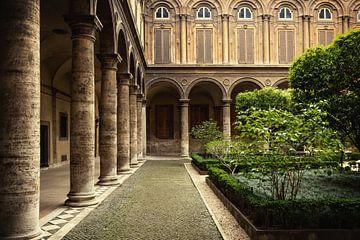 Rome, Italië - Historische Galerij. von WWC Fine Art Photography